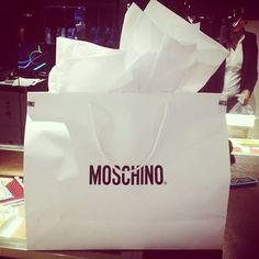 Photo by tanarendon #moschino #mymoschino #gift #surprise