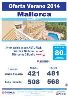 Mallorca, hasta 80% Dto.Acompañante, Hotel Bahamas, salidas 18 y 23 Julio desde Asturias ultimo minuto - http://zocotours.com/mallorca-hasta-80-dto-acompanante-hotel-bahamas-salidas-18-y-23-julio-desde-asturias-ultimo-minuto/