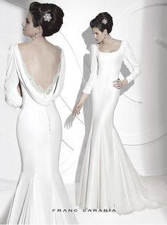 Свадебное платье франц