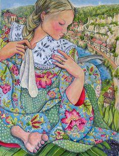 Love this lady's art - Nerida de Jong