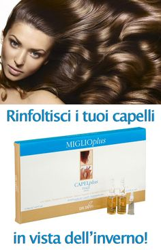 """Fall is a very stressing season for our hair. Let's help them to stay healthy and thick! """"Miglio Plus Fiale"""" is exactly what we need! http://www.drtaffi.it/personal-care/hair-care/strengtheners/capelplus-12-fiale-da-7-ml-cad.html#.UlLM2mSoQUQ  L'autunno è una stagione difficile per i nostri capelli. Aiutiamoli a restare in salute e folti con Miglio Plus Fiale!"""