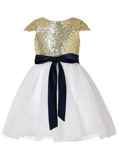 a80ae4baffd 2019 Flower Girl Dresses A-Line Tulle Jewel Gold Short