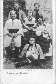 Буковинські типажі, до 1914 р.