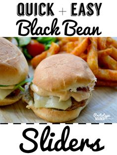 Quick and easy black bean sliders and Ore-Ida Bold & Crispy Fries- It's what's for dinner! #FindYourBold #ad