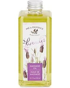 Pré de Provence Lavender Massage Oil , soap - European Soaps, Vintage Market And Design