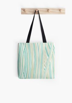 Funky stripes, white and green by ptitsa-tsatsa
