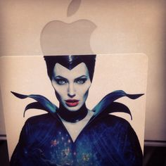 Maleficent with Apple........