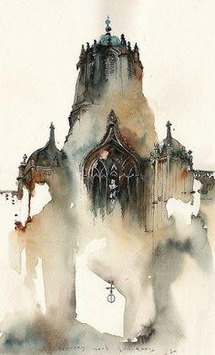 Oxford, UK by Park Sunga
