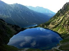 Czarny Staw and Morski Oko, in the mountains of Poland