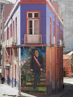 via www.mountainadventures.com  Valparaiso, Chile The Wonderful Country, Bolivia, Dream Vacations, South America, Peru, Chili, Graffiti, Street Art, Places To Visit