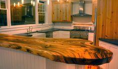 koa wood counter top - Google Search