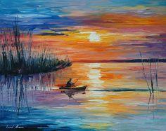 Lake Okeechobee Sunset Fishing