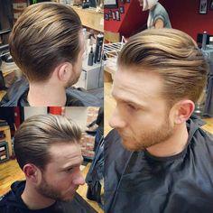 Haircut by bucksbarbers http://ift.tt/23hmpZc #menshair #menshairstyles #menshaircuts #hairstylesformen #coolhaircuts #coolhairstyles #haircuts #hairstyles #barbers