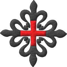 Orden de Caballería de Santa María de Montesa y San Jorge de Alfama: Una cruz de Montesa.