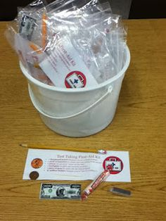 State testing first aid kits
