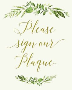 This is a downloadable, printable Wedding Cream and Gold Sign saying Sign our Plaque ORDER INCLUDES: - JPG : 8x10 (if you need another size just convo me!) - Print-Ready PDF with crop marks and bleed : 8x10 PLEASE NOTE: You will not receive a physical print in the mail afetr