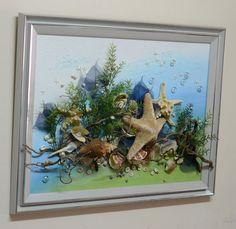 Настенная морская композиция 60*80 см