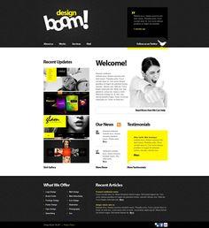 Boom! Design WordPress Themes by Elza