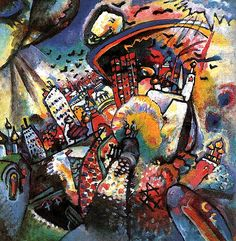 Moscow I, 1916 Wassily Kandinsky