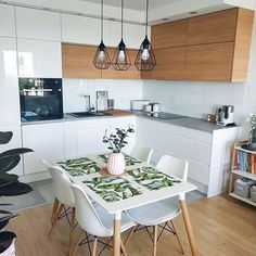 These Scandinavian Kitchen Ideas Perfectly Capture Nordic Living Scandinavian Kitchen Design Ideas For A Stylish Cooking . Kitchen Interior, Kitchen Furniture Storage, Kitchen Design Small, Kitchen Furniture, Scandinavian Kitchen, Kitchen Decor, Kitchen Dining Room, Craftsman Kitchen, Kitchen Design