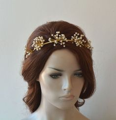 wedding hairstyles with tiara - weddinghairstyles Wedding Headband, Bridal Crown, Bridal Hairpiece, Wedding Accessories For Bride, Wedding Hair Accessories, Wedding Jewelry, Tiara Hairstyles, Wedding Hairstyles, Wedding Hair Pieces