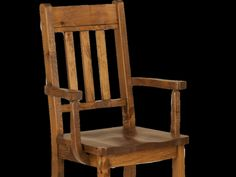 Rough Sawn Slatback Arm Chair | Munros Furniture
