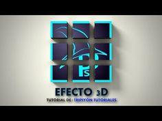 Efecto 3D y texturizado con Photoshop - YouTube
