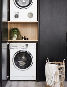 If you want to keep your place clean then use some useful laundry room storage ideas. These can make your laundry task easy and save space at the same time. Laundry Cupboard, Laundry Closet, Laundry Room Organization, Laundry Storage, Storage Room, Organizing, Hidden Laundry, Small Laundry Rooms, Laundry In Bathroom