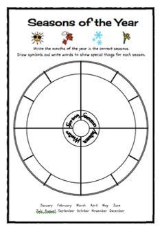 Roman Republic Worksheets Pdf Teaching The Seasons And Months Free Printable  Worksheets  Kindergarten School Worksheets Excel with Plant Adaptations Worksheets Excel Classroom Freebies Too Seasons Of The Year Freebie Ordering Mixed Numbers Worksheet