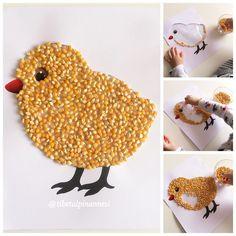 Seed Crafts For Kids, Preschool Crafts, Diy For Kids, Diy And Crafts, Arts And Crafts, Seed Art For Kids, Pumpkin Seed Crafts, Pasta Crafts, Autumn Crafts