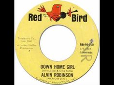 Alvin Robinson was born in 1937. By the late 50's he was working as a session guitarist in New Orleans.    This song was his only single for Red Bird in 1964.  (He recorded for Tiger Label at before, and at later recorded for Blue Cat Label.)    Produced by,Jerry Leiber & Mike Stoller  Written by,Jerry Leiber & Artie Butler  Arrenged by,Joe Jone...