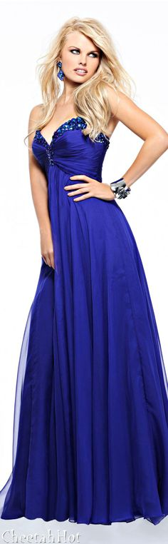 SHERRI HILL - Purple Gown Outfit<3