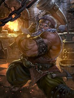 124 Best RPG Dwarves images in 2019 | Character art