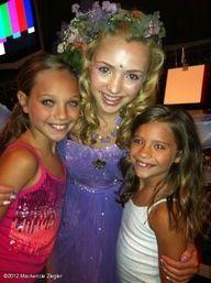 Maddie and Mackenzie with Peyton list