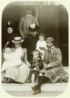 Beatrice smile, Arthur jnr smile (daughter and grandson)