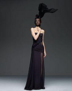 Spring 2009 Atelier Versace: Red Carpet Ruffles and Whorls   POPSUGAR Fashion
