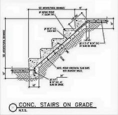 Best Concrete Stair Detail Stairs Pinned By Www Modlar Com Conceptions For The House Concrete 400 x 300