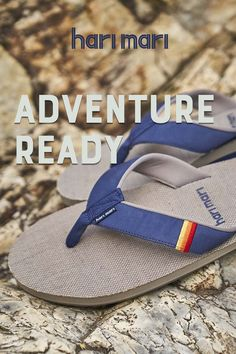 The perfect flip flops and sandals for all your adventures. Shop Men's, Women's & Kids' today! Fabric Flip Flops, Rubber Sandals, Mens Flip Flops, Your Shoes, Leather Sandals, Man Shop, Adventure, Navy, Kids