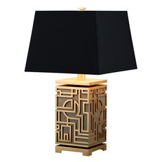 Marlowe Table Lamp – Chinoiserie Mid-Century Modern Table Lighting – Dering Hall - All For Lamp İdeas Unique Table Lamps, Rustic Lamps, Modern Lighting Design, Cool Lighting, Table Lighting, Lighting Ideas, Outdoor Lighting, Chinoiserie, Light Table