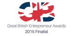 We are thrilled and proud to be finalists in 2 categories at the Great British Entrepreneur Awards 2015