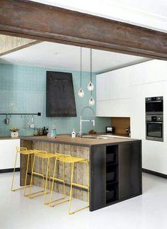 #loft #kitchen #decoration #home