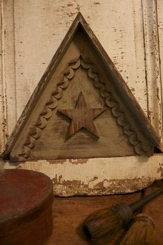 great antique star architectural piece.