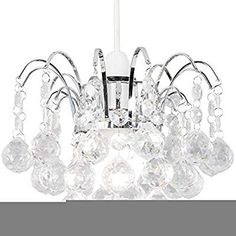 For those on a budget who are looking to add a touch of sparkle to their home the Oreil Pendant from Pagazzi is the one for you. This gorgeous design features large acrylic baubles that cascade from a polished chrome frame. It gives off a dazzling glow Lighting Store, Home Lighting, Modern Lighting, Ceiling Pendant, Ceiling Lights, Mirror Wall Art, Lounge, Light Shades, Polished Chrome