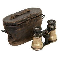 Civil War Era Binoculars W Case now featured on Fab.