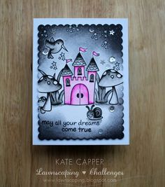 Dreams come true | Using Lawn fawn stamps,coloured with Inkt… | Flickr