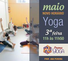 Novo horário de Yoga adultos - Terças-feiras das 11h às 11h50