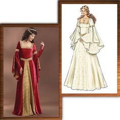Medieval Costumes Patterns