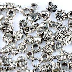 140styles 925 Silver Beads for Pandora Charm Bracelets Ilia & Biagi Bracelet from Sweetheart88888,$0.32   DHgate.com