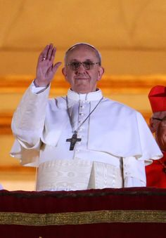Pope Francis, Cardinal Jorge Mario Bergoglio Of Buenos Aires, Elected Leader Of Catholic Church