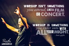 Worship with all your might!